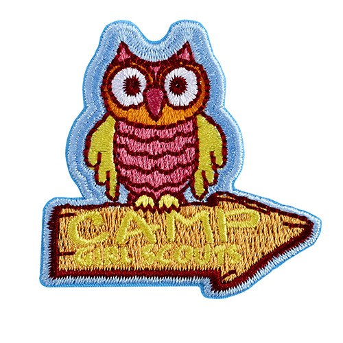2016 Camp Girl Scouts Iron on Patch