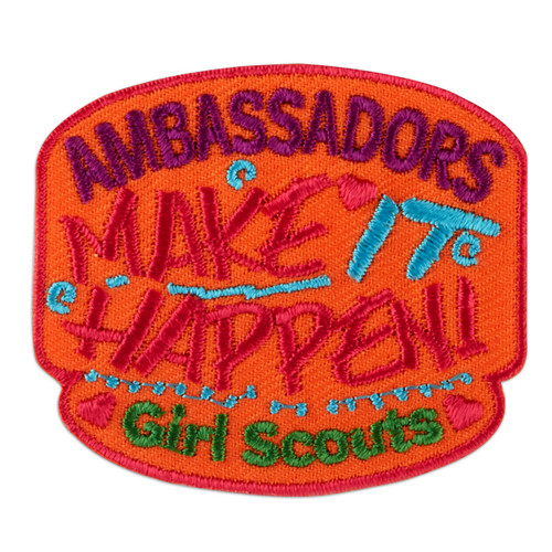 Ambassadors Make It Happen! Iron-On