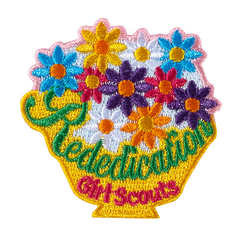 Rededication Bouquet Iron-On Patch