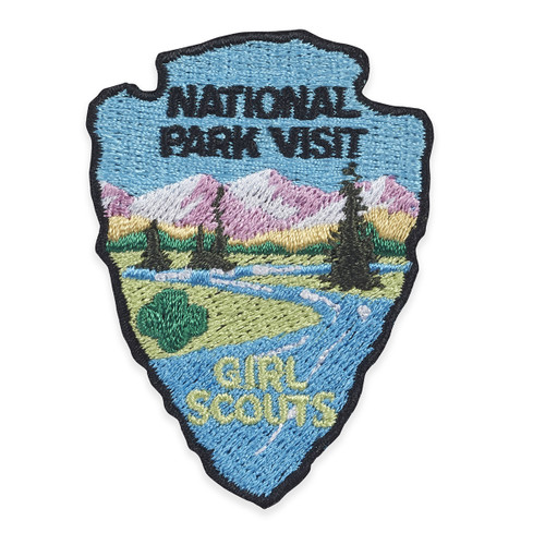 National Park Visit Iron-On Patch