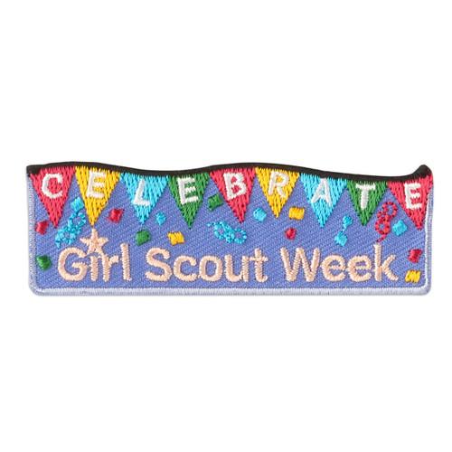 2020 Celebrate Girl Scout Week Iron