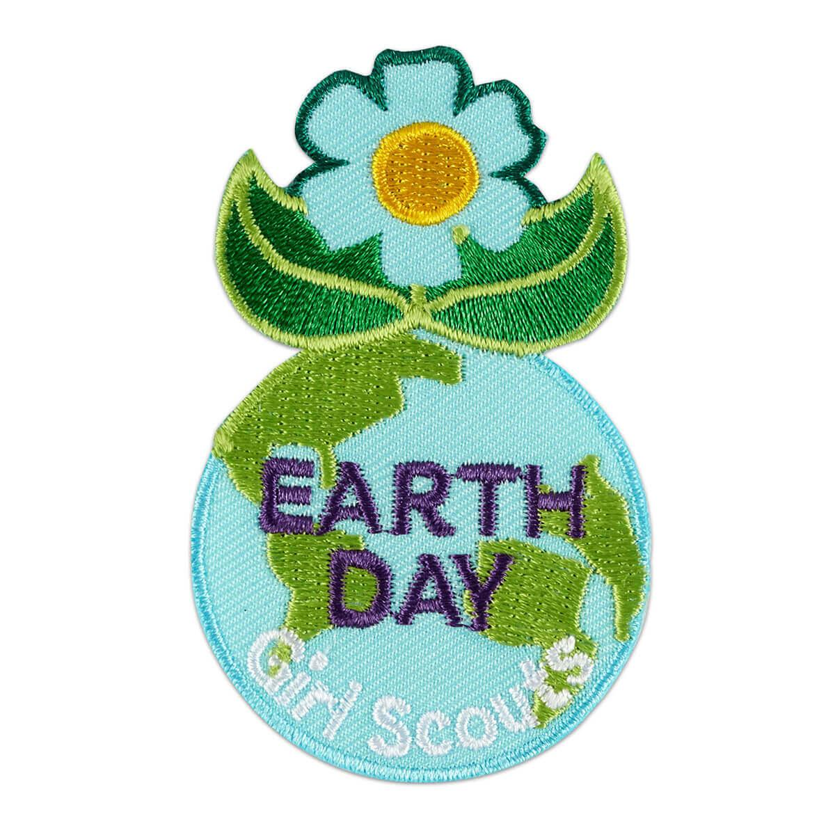 Earth Day Iron-On Patch
