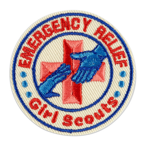 Emergency Relief Iron-On Patch