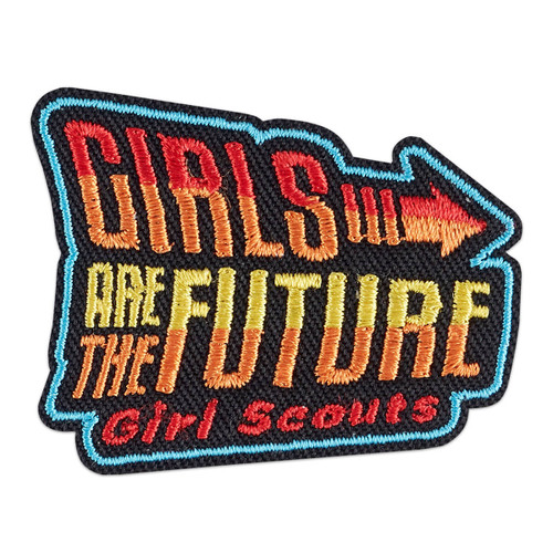 Girls Are The Future Iron-On Patch