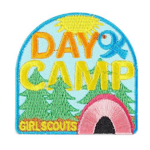 Day Camp Iron-On Patch