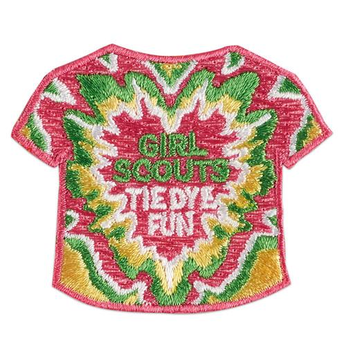 Tie-Dye Fun T-Shirt Iron-On Patch