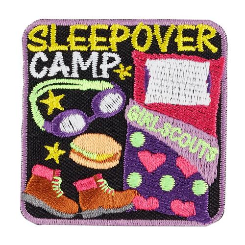 Sleepover Camp Iron-On Patch