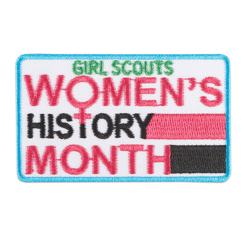 Women's History Month Iron-On Patch