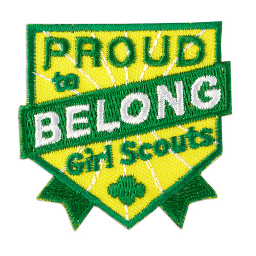 Proud To Belong Iron-On Patch
