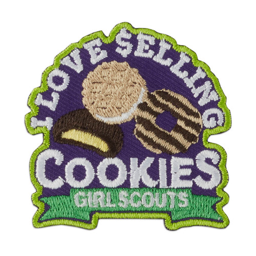 I Love Selling Cookies