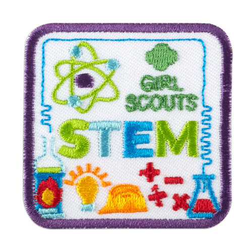 STEM Icons Iron-On Patch