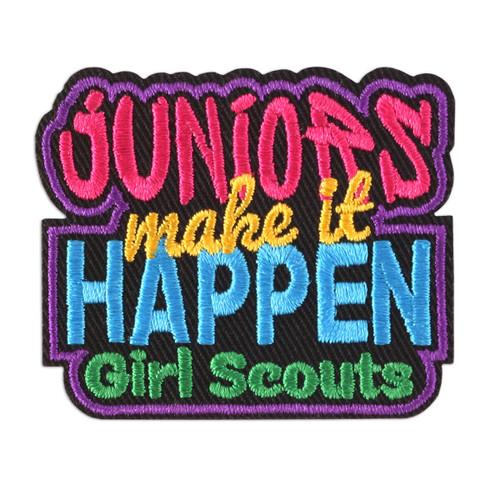 Juniors Make It Happen Patch