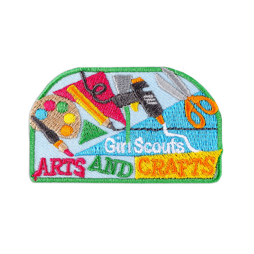 Arts and Crafts Together Patch