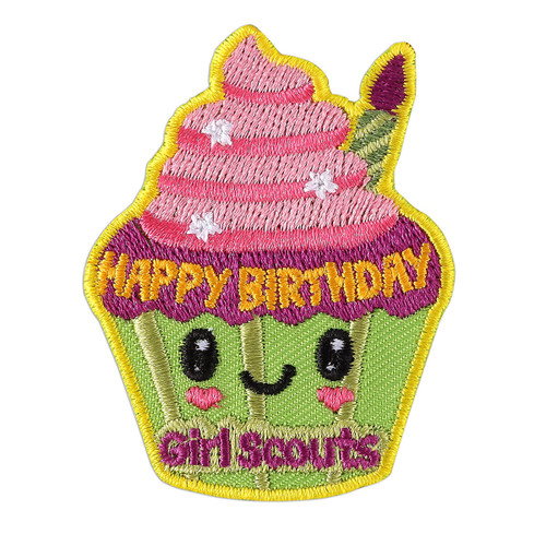 Happy Birthday Cupcake Patch