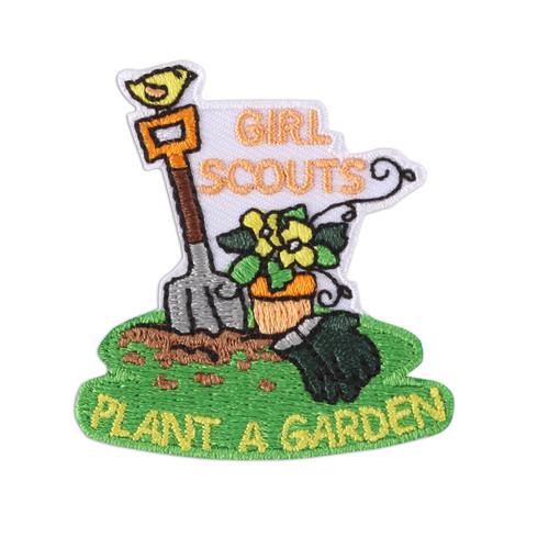 Plant A Garden Iron-On Patch