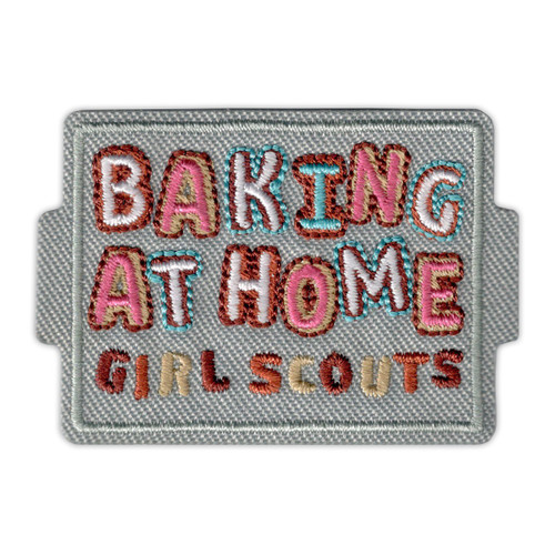 Baking at Home Iron-On Patch