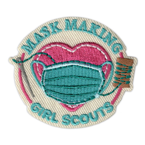 Mask Making Iron-On Patch