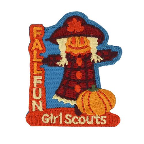 Fall Fun Scarecrow Iron-On Patch