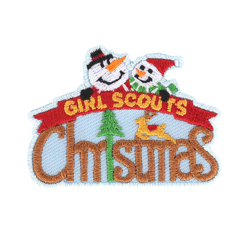 Snowman Christmas Iron-On Patch