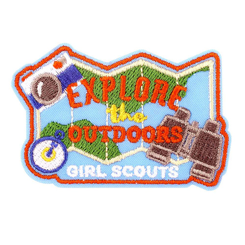 Girl Scouts Explore the Outdoors Iron-On Patch
