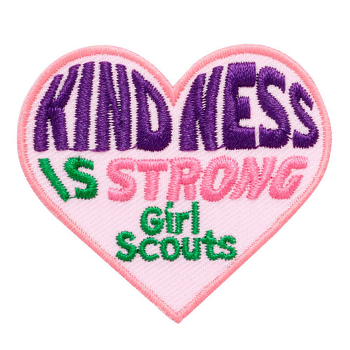 Kindness is Strong Iron-On Patch