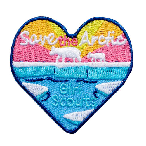 Save the Artic Iron-On Patch