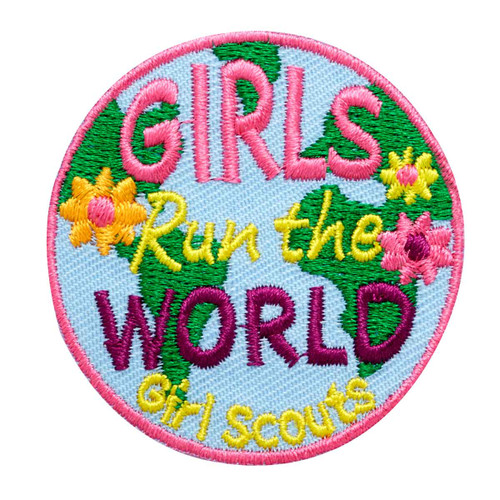 Girls Run the World Iron-On Patch
