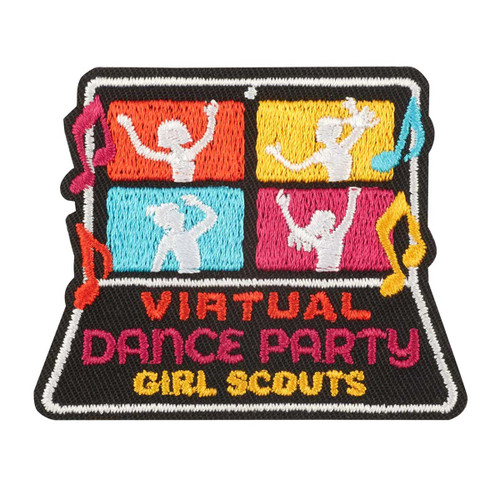 Virtual Dance Party Iron-On Patch