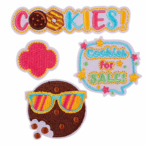 Girl Scout Cookie Sale Mini Patch Set