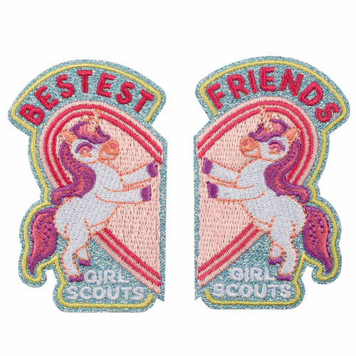Unicorn Friendship Iron-On Patches