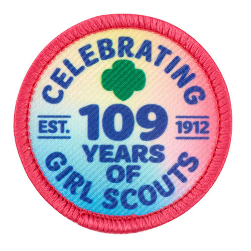 Celebrating 109 Years of Girl Scouts Sew-On Patch