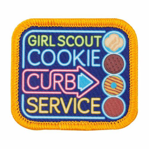 Cookie Curb Service Sew-On Patch