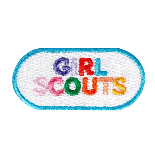 Girl Scouts Bold And Bright Iron-On