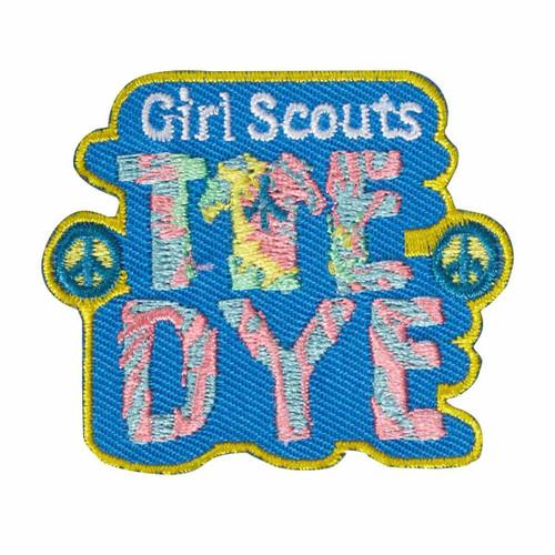 tie dye peace patch