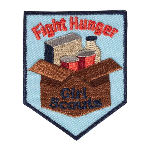 girl scouts fight hunger patch
