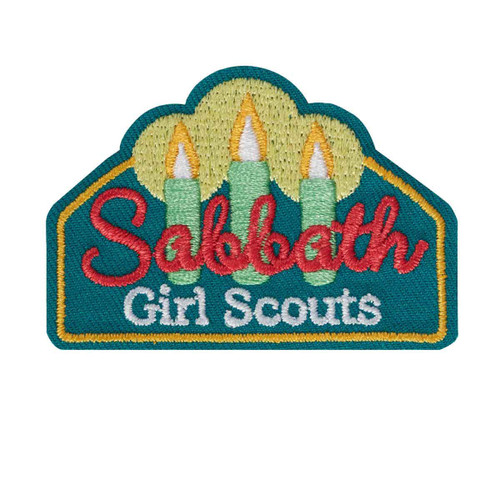 Girl Scout Sabbath Iron-On Patch