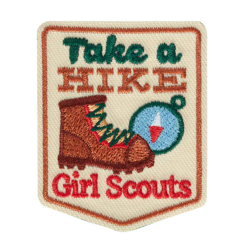 Take A Hike Iron-On Patch