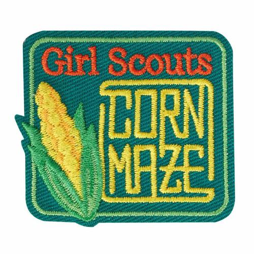 Corn Maze Iron-On Patch