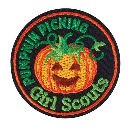 Pumpkin Picking Iron-On Patch