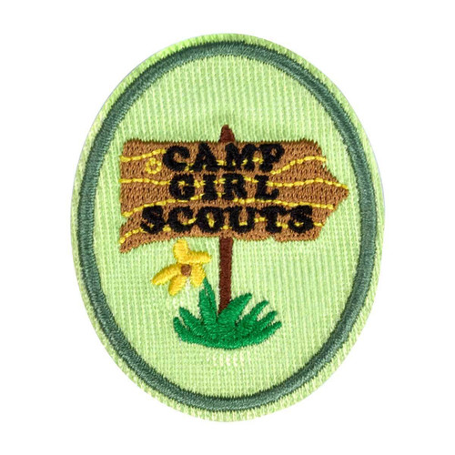 Girl Scout Camp patch
