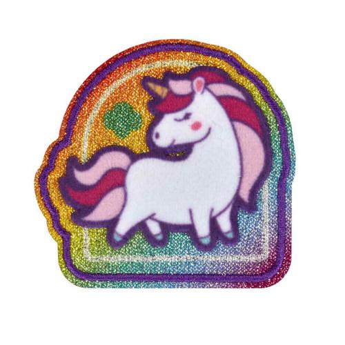 Unicorn Glitter Iron-On Patch
