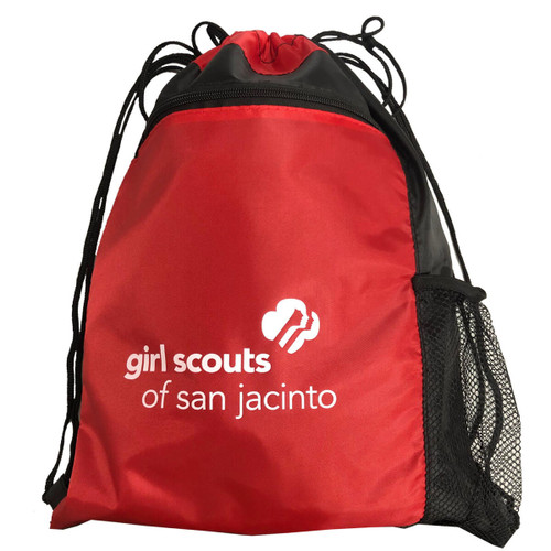 GSSJC Color Block Drawstring Backpa