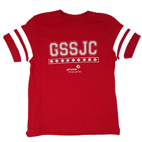 GSSJC Football Shirt Vintage Red