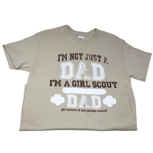 GSSJC Girl Scout Dad Shirt