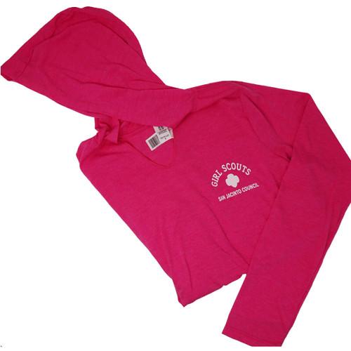 GSSJC Pink Long Sleeve Hoodie