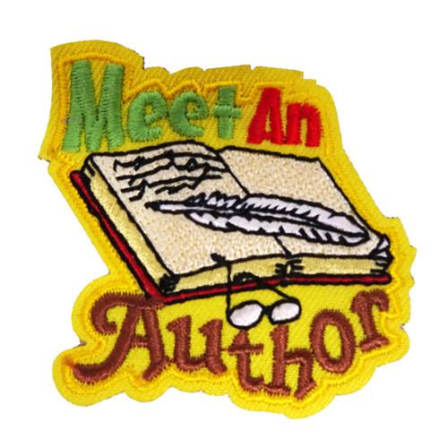 GSSJC Meet the Author Patch