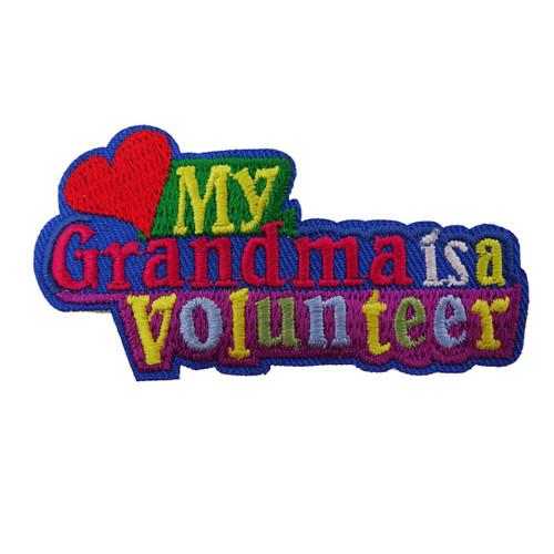 GSSJC My Grandma Volunteer Patch