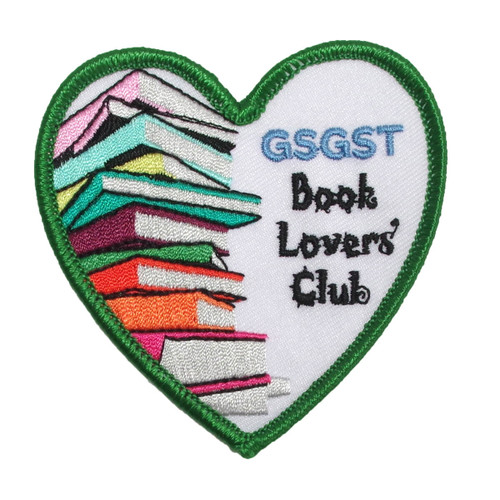 GSGST Book Lovers' Club Patch
