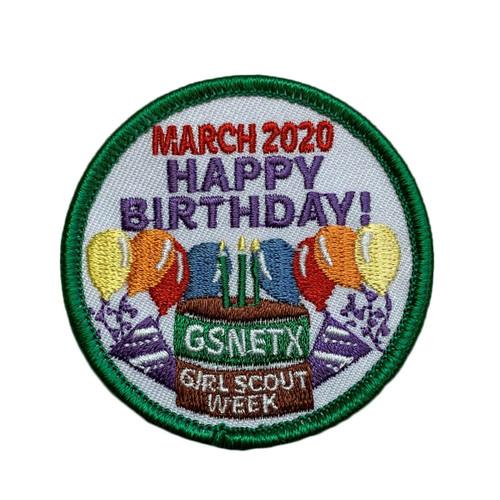 GSNETX Birthday Week 2020 Activity