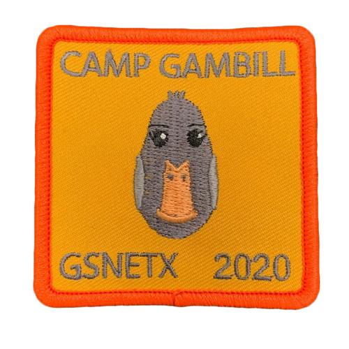 GSNETX 2020 Camp Gambill Patch